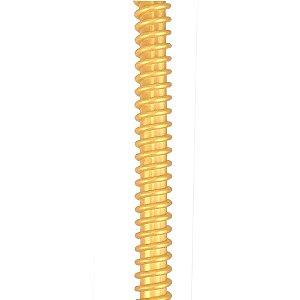 Silicone Refil ZH Helix - Dourado com Dourado