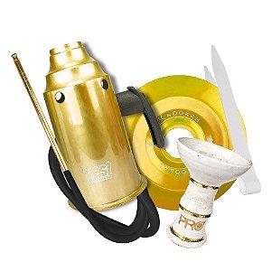 Kit Acessórios para Narguile - Dourado KIT03