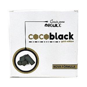 Kit Carvão Coco Black Hexagonal 1kg