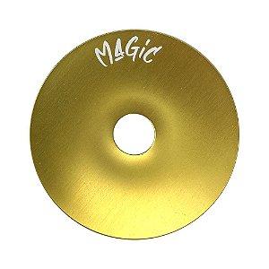 Prato Magic Pequeno 15cm - Dourado