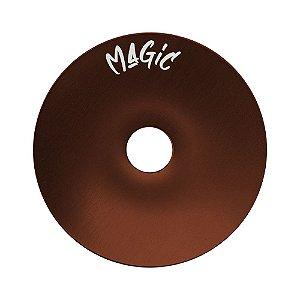 Prato Magic Pequeno 15cm - Marrom