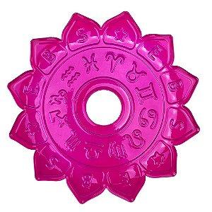 Prato EBS Hookah Signum M 22cm - Rosa Escuro