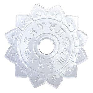 Prato EBS Hookah Signum M 22cm - Branco