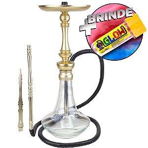 Narguile Sultan Hookah Miid - Champanhe + Brinde Glow