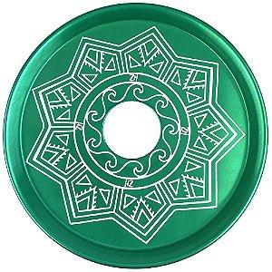 Prato ZH Tribal Médio 19cm - Verde