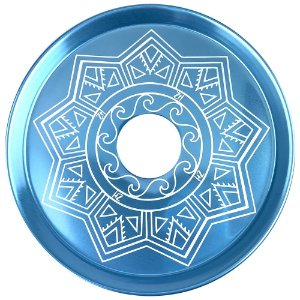 Prato ZH Tribal Médio 19cm - Azul Claro