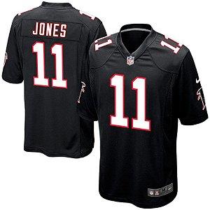 Camisa  NFL Atlanta Falcons Futebol Americano #11 Jones