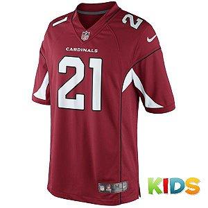 Camisa Infantil NFL Arizona Cardinals Futebol Americano #21 Peterson