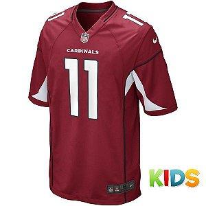 Camisa Infantil NFL Arizona Cardinals Futebol America #11 Fitzgerald