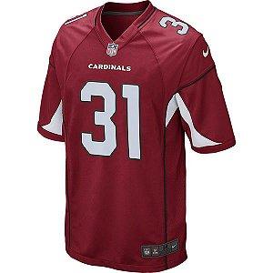 Camisa NFL Arizona Cardinals Futebol Americano #31 Johnson