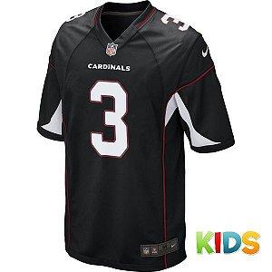 Camisa Infantil NFL Arizona Cardinals Futebol Americano #3 Palmer
