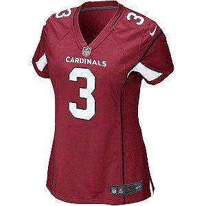 Camisa Feminina NFL Arizona Cardinal Futebol Americano #3 Palmer