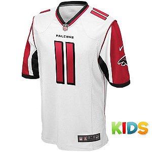 2be346a51b1b9 Camisa Infantil NFL Atlanta Falcons Futebol Americano  11 Jones