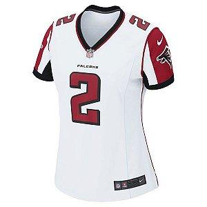 34597950ed Camisa Feminina NFL Atlanta Falcons Futebol Americano  2 Ryan ...