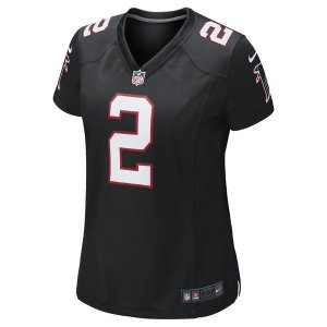 Camisa Feminina NFL Atlanta Falcons Futebol Americano #2 Ryan