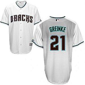 Camisa Mlb Arizona Diamondbacks Zack Greinke Baseball