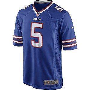 Camisa NFL Buffalo Bills Futebol Americano #5 Taylor