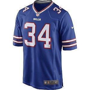 Camisa NFL Buffalo Bills Futebol Americano #34 Thomas