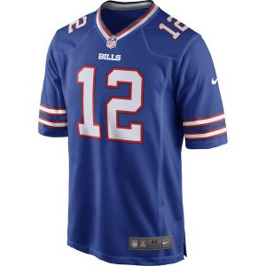 Camisa NFL Buffalo Bills Futebol Americano #12 Kelly