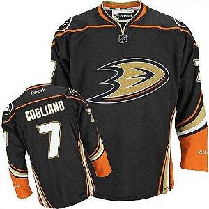 Camisa Nhl Anaheim Ducks Andrew Cogliano Hockey