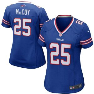 Camisa Feminina NFL Buffalo Bills Futebol Americano #25 McCoy