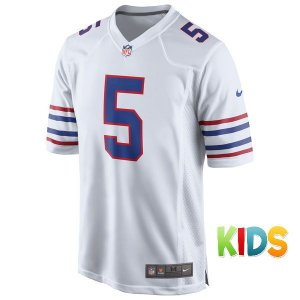 Camisa Infantil NFL Buffalo Bills Futebol Americano #5 Taylor