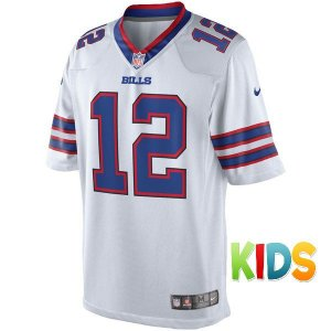 Camisa Infantil NFL Buffalo Bills Futebol Americano #12 Kelly