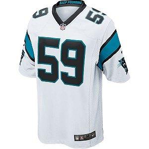 Camisa NFL Carolina Panthers Futebol Americano #59 Kuechly