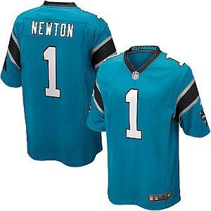 Camisa NFL Carolina Panthers Futebol Americano #1 Newton