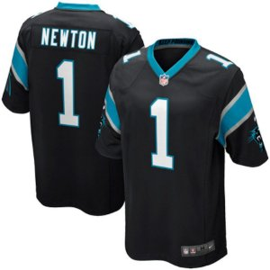 Camisa NFL Carolina Panthers Futebol Americano #1 Newton