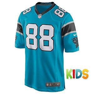 Camisa Infantil NFL Carolina Panthers Futebol Americano #88 Olsen