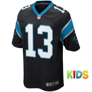 Camisa Infantil  NFL Carolina Panthers Futebol Americano #13 Benjamin