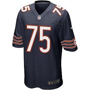 Camisa NFL Chicago Bears Futebol Americano #75 Long