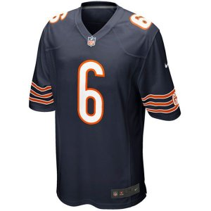 Camisa NFL Chicago Bears Futebol Americano #6 Cutler