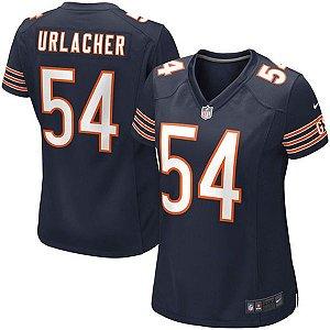 Camisa Feminina NFL Chicago Bears Futebol Americano #54 Urlacher