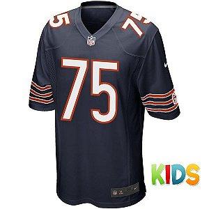 Camisa Infantil  NFL Chicago Bears Futebol Americano #75 Long