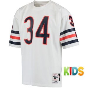 Camisa Infantil NFL Chicago Bears Futebol Americano #34 Payton