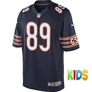 Camisa Infantil NFL Chicago Bears Futebol Americanos #89 Ditka
