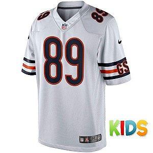 Camisa Infantil NFL Chicago Bears Futebol Americano #89 Ditka