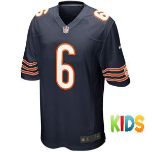 Camisa Infantil NFL Chicago Bears Futebol Americano #6 Cutler