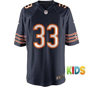 Camisa Ifantil NFL Chicago Bears Futebol Americano #33 Tillman