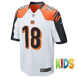 e038167d6aa9e Camisa Infantil NFL Cincinnati Bengals Futebol Americano  18 Green
