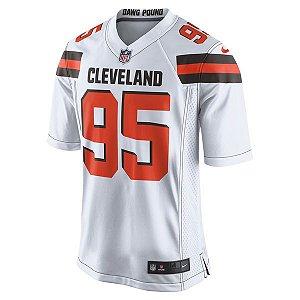 Camisa NFL Cleveland Browns Futebol Americano #95 Garrett