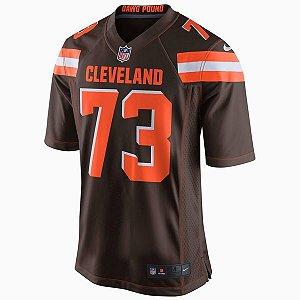 Camisa NFL Cleveland Browns Futebol Americano #73 Thomas
