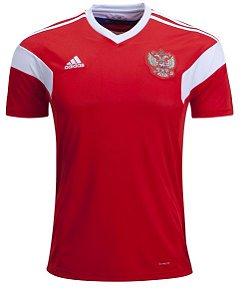 a5d878b76c Camisa Seleção Russia Home Copa do Mundo 2018 - Personalização e Frete  Grátis