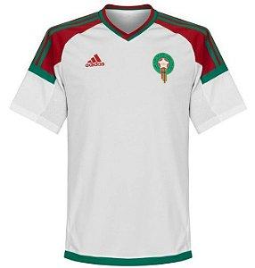 Camisa Seleção Marrocos Away Copa do Mundo 2018 - Personalização e Frete Grátis