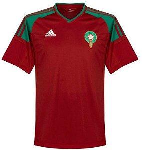 Camisa Seleção Marrocos Home Copa do Mundo 2018 - Personalização e Frete Grátis