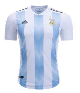 Camisa Seleção Argentina Home Copa do Mundo 2018 - Personalização e Frete Grátis