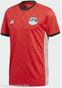 Camisa Seleção Egito Home Copa do Mundo 2018 - Personalização e Frete Grátis