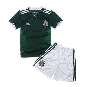 Kit Infantil Seleção México Home Copa do Mundo 2018 - personalizaçao e frete gratis